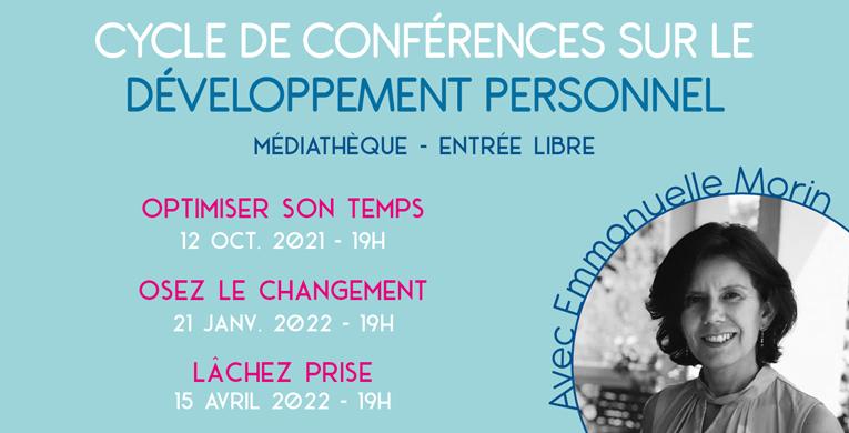 Cycle de conférences sur le développement personnel