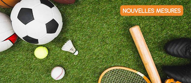 Infos COVID – Pratique sportive