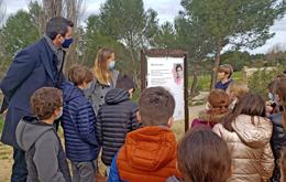 Inauguration Parcours Poétique