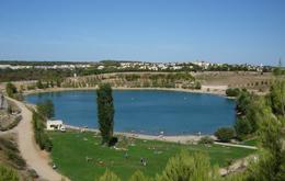 Parcours d'orientation sur le site du lac