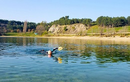 Natation et Paddle au Lac